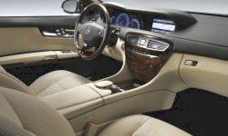 Coupe Models at TrueDelta: 2010 Mercedes-Benz CL-Class interior
