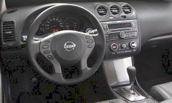 Coupe Models at TrueDelta: 2009 Nissan Altima interior
