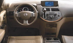 Nissan Models at TrueDelta: 2009 Nissan Quest interior