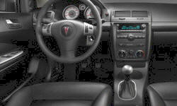 Coupe Models at TrueDelta: 2009 Pontiac G5 interior