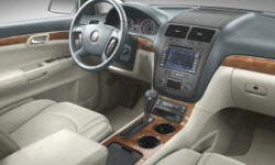 SUV Models at TrueDelta: 2010 Saturn Outlook interior