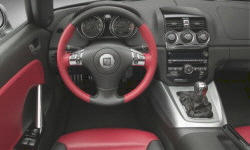 Convertible Models at TrueDelta: 2010 Saturn SKY interior
