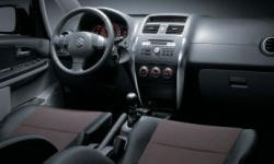 Hatch Models at TrueDelta: 2013 Suzuki SX4 interior