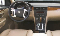 SUV Models at TrueDelta: 2009 Suzuki XL7 interior