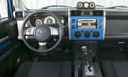 Toyota Models at TrueDelta: 2014 Toyota FJ Cruiser interior
