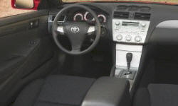 Coupe Models at TrueDelta: 2008 Toyota Solara interior