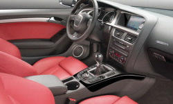 Coupe Models at TrueDelta: 2017 Audi A5 / S5 interior