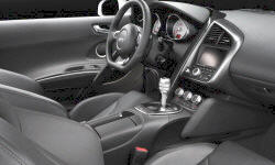 Convertible Models at TrueDelta: 2015 Audi R8 interior