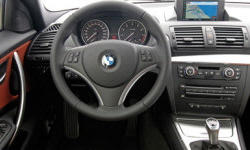 Coupe Models at TrueDelta: 2013 BMW 1-Series interior