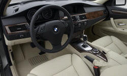 Wagon Models at TrueDelta: 2010 BMW 5-Series interior