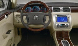 Buick Models at TrueDelta: 2011 Buick Lucerne interior