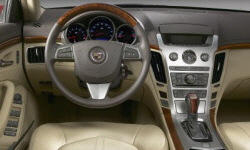 Coupe Models at TrueDelta: 2013 Cadillac CTS interior