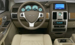 Chrysler Models at TrueDelta: 2010 Chrysler Town & Country interior