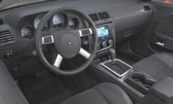 Coupe Models at TrueDelta: 2010 Dodge Challenger interior