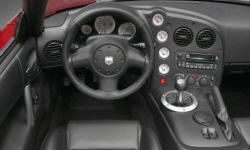 Convertible Models at TrueDelta: 2009 Dodge Viper interior