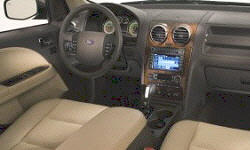 Wagon Models at TrueDelta: 2009 Ford Taurus X interior