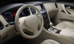 SUV Models at TrueDelta: 2013 Infiniti EX interior