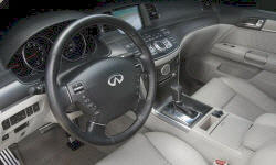 Infiniti Models at TrueDelta: 2010 Infiniti M interior