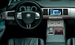 Jaguar Models at TrueDelta: 2012 Jaguar XF interior