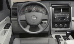 Jeep Models at TrueDelta: 2010 Jeep Liberty interior