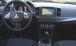 Hatch Models at TrueDelta: 2014 Mitsubishi Lancer interior