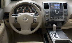 SUV Models at TrueDelta: 2015 Nissan Armada interior