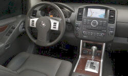 Nissan Models at TrueDelta: 2012 Nissan Pathfinder interior