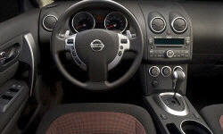 Nissan Models at TrueDelta: 2010 Nissan Rogue interior