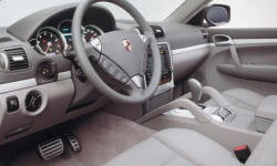 SUV Models at TrueDelta: 2010 Porsche Cayenne interior