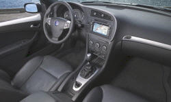 Convertible Models at TrueDelta: 2011 Saab 9-3 interior