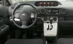 Hatch Models at TrueDelta: 2010 Scion xB interior