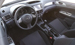 Hatch Models at TrueDelta: 2010 Subaru Impreza / WRX / Outback Sport interior