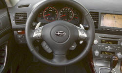Wagon Models at TrueDelta: 2009 Subaru Outback interior