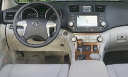 SUV Models at TrueDelta: 2010 Toyota Highlander interior