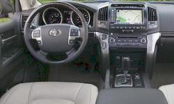 SUV Models at TrueDelta: 2011 Toyota Land Cruiser interior