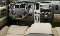 SUV Models at TrueDelta: 2017 Toyota Sequoia interior