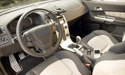 Volvo Models at TrueDelta: 2013 Volvo C30 interior