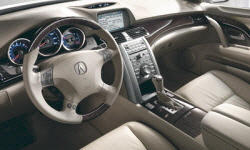 Acura Models at TrueDelta: 2012 Acura RL interior