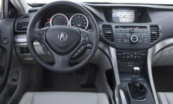 Acura Models at TrueDelta: 2010 Acura TSX interior