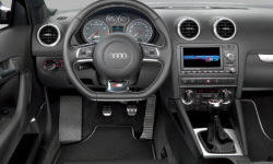 Hatch Models at TrueDelta: 2013 Audi A3 interior