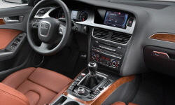 Convertible Models at TrueDelta: 2009 Audi A4 / S4 interior