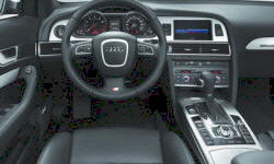 Wagon Models at TrueDelta: 2011 Audi A6 / S6 interior