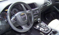 SUV Models at TrueDelta: 2017 Audi Q5 interior