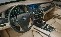 BMW Models at TrueDelta: 2012 BMW 7-Series interior