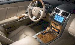 Convertible Models at TrueDelta: 2009 Cadillac XLR interior