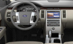 SUV Models at TrueDelta: 2012 Ford Flex interior