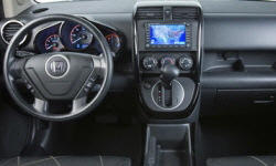 Honda Models at TrueDelta: 2011 Honda Element interior