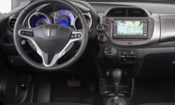 Hatch Models at TrueDelta: 2011 Honda Fit interior