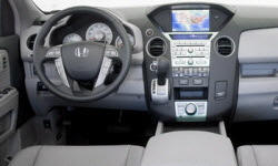 Honda Models at TrueDelta: 2011 Honda Pilot interior