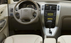 SUV Models at TrueDelta: 2009 Hyundai Tucson interior
